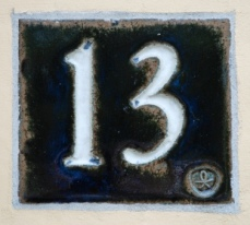 13 - unlucky number