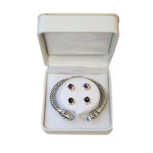 lucky agate bracelet